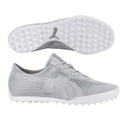 Puma Monolite Cat Woven Ladies grey buty golfowe