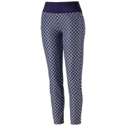 Puma PWRSHAPE Checker Pant peacoat spodnie golfowe