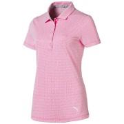 Puma Swift Women Polo pink/white koszulka golfowa