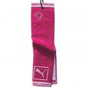 Puma Tri-Fold Pink Towel