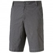 Puma Plaid Shorts black