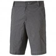 Puma Plaid Shorts black krótkie spodnie
