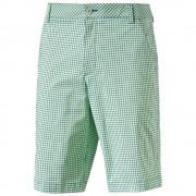 Puma Plaid Shorts green krótkie spodnie