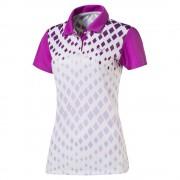 Puma Diamond Graphic purple polo