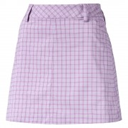 Puma Plaid Skirt orchid
