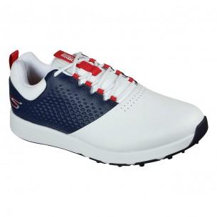 Skechers Go Golf Elite V.4 white/navy/red buty golfowe