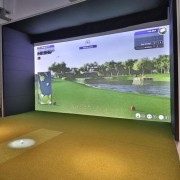 Elite Home Golf Simulator Box ekran do symulatora golfowego