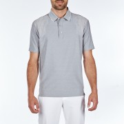 Sligo Lenny Polo light grey koszulka golfowa