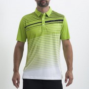 Sligo Edge green polo męskie