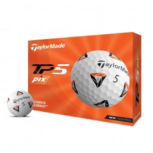 Taylor Made TP5 pix 12-pack piłki golfowe