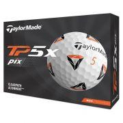 Taylor Made TP5x pix 12-pack piłki golfowe