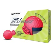 Taylor Made Soft Response red 12-pack piłki golfowe