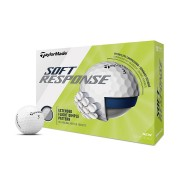 Taylor Made Soft Response white 12-pack piłki golfowe