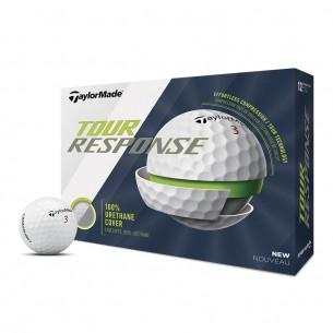Taylor Made Tour Response white 12-pack piłki golfowe