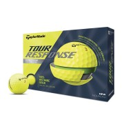 Taylor Made Tour Response yellow 12-pack piłki golfowe