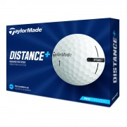 Taylor Made Distance+ 12-pack (białe i żółte) piłki golfowe