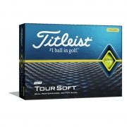 Titleist Tour Soft yellow 12-pack piłki golfowe