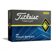 Titleist Tour Speed yellow 12pack piłki golfowe