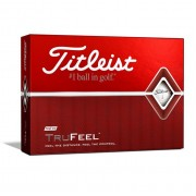 Titleist TruFeel white 12pack