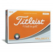 Titleist Velocity Orange 12pack
