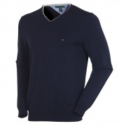Tommy Hilfiger Preston V-Neck Midnight Sweater