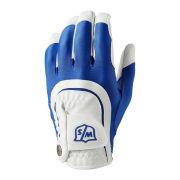 Wilson Staff Fit-All One Size white/blue rękawiczka golfowa