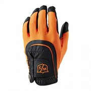 Wilson Staff Fit-All One Size black/orange rękawiczka golfowa