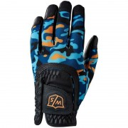 Wilson Staff Fit-All Junior One Size black/orange/camo rękawiczka golfowa