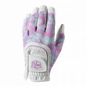 Wilson Staff Fit-All Junior One Size pink camo rękawiczka golfowa