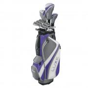 Wilson LUXE Ladies kompletny zestaw golfowy