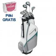 Wilson ProStaff HDX Halfset Damski zestaw kijów golfowych