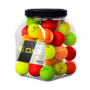 Wilson Staff Dx2 Optix 36-pack mix kolorów piłki golfowe