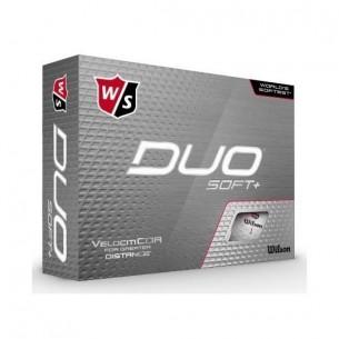 Wilson Staff DUO Soft+ 12-pack piłki golfowe