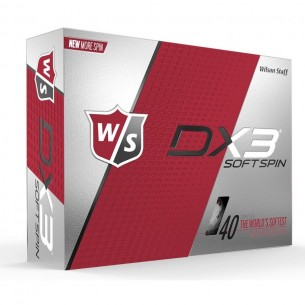 Wilson Staff DX3 Soft Spin 12-pack