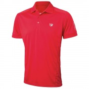 Wilson Staff Authentic red polo męskie