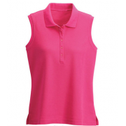 Wilson Staff Sleeveless Polo Ladies magenta