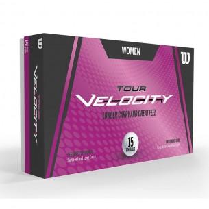 Wilson Tour Velocity Women 15-pack piłki golfowe