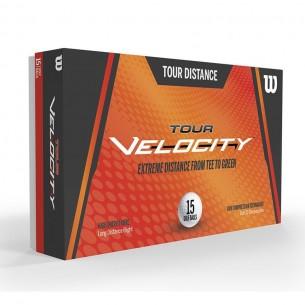 Wilson Tour Velocity Distance 15-pack piłki golfowe