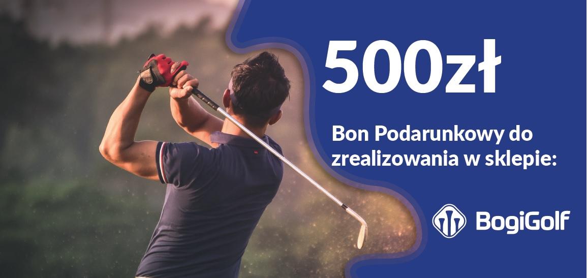 Bon podarunkowy dla golfisty