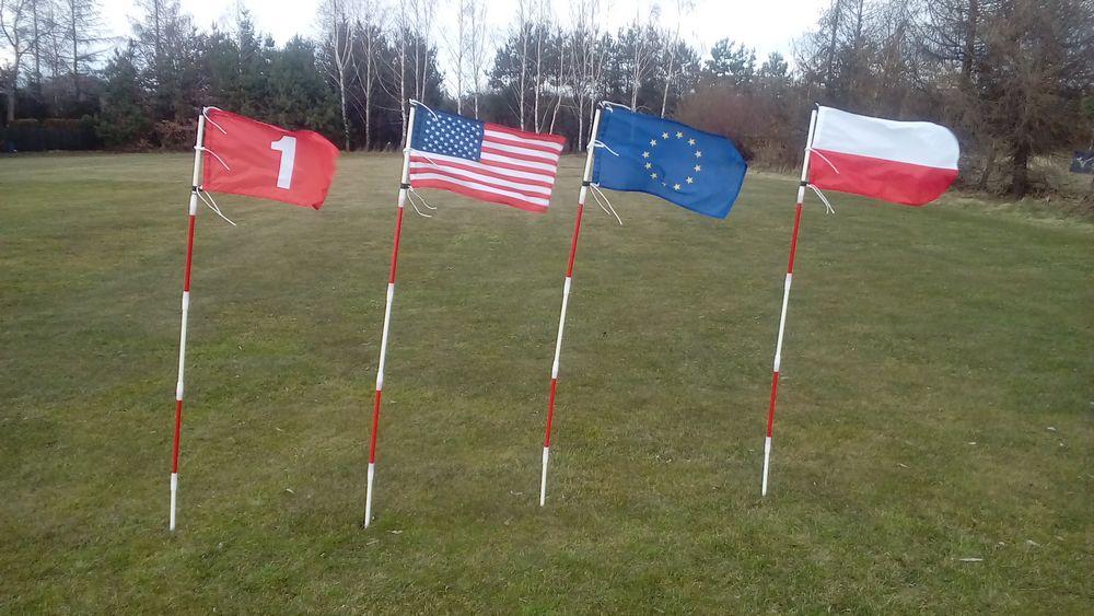 Flagi golfowe