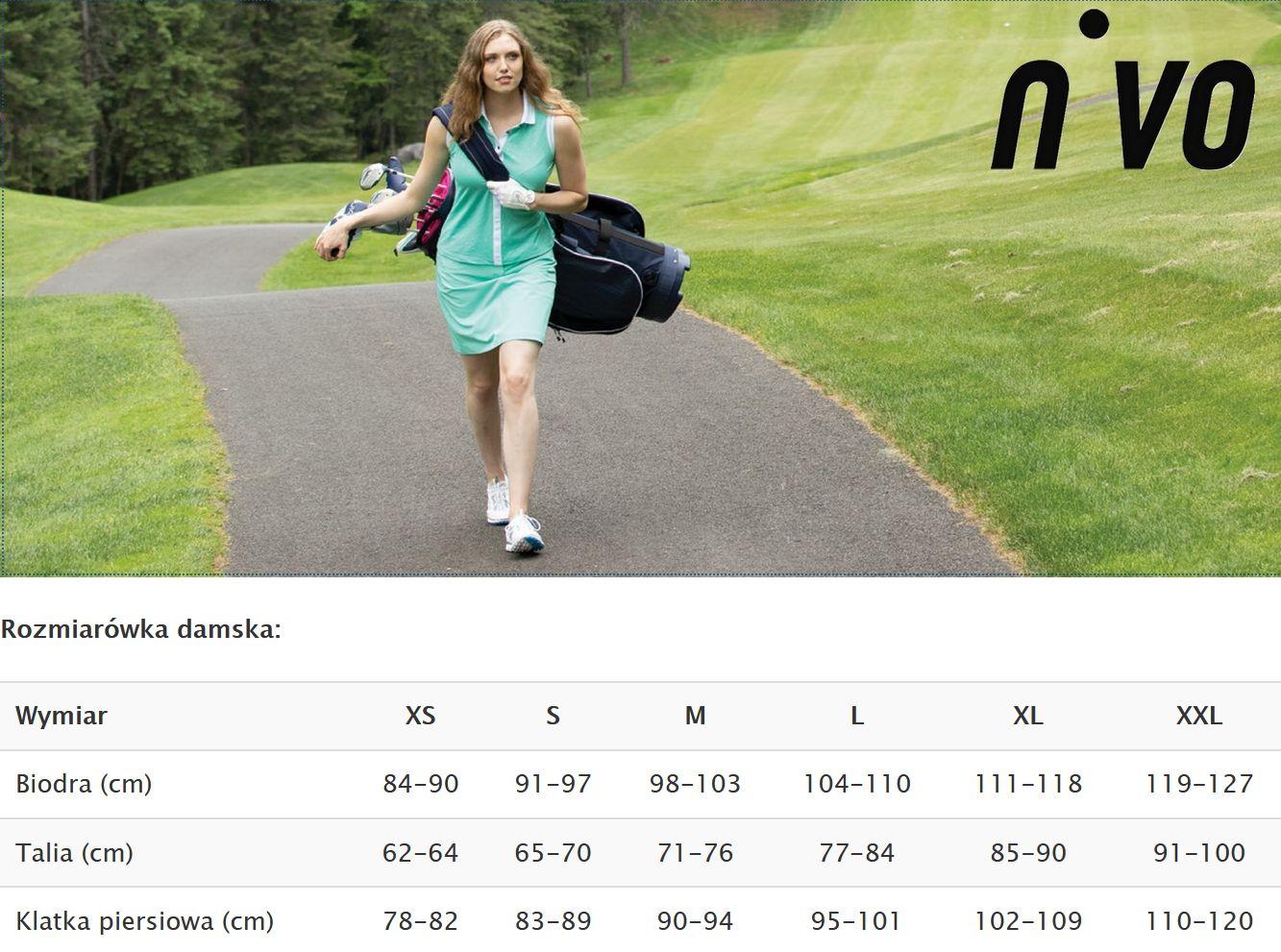 Nivo odzież golfowa damska