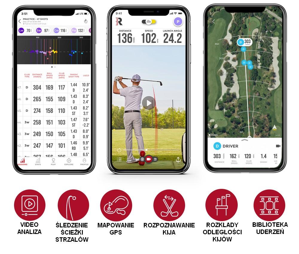 Rapsodo radar golfowy