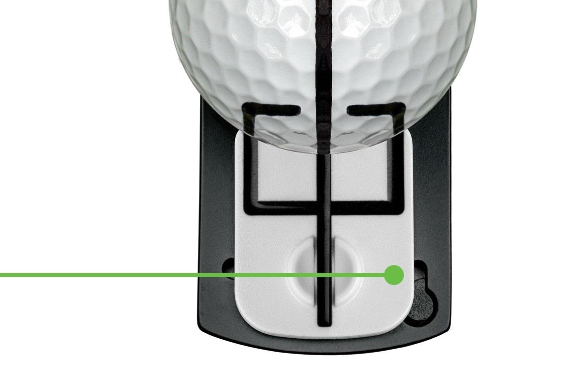 Trident Align urządzenie ułatwiające celowanie w golfie